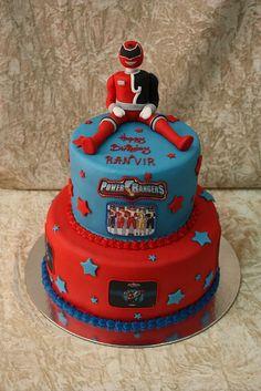 power ranger cake by The House of Cakes Dubai, via Flickr