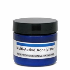 NCN Pro Skincare Multi-Active Accelerator (2 oz.) by NCN Pro Skincare. $54.00. Stimulates collagen production. Decrease wrinkles.. Removes age spots, hyper-pigmentation and photo damage. Reduces scar tissue.. Gets rid of crepey skin. Transforms skin by promoting cell growth.. Firms the skin. Nourishes the skin. Extends cell life.. Rebuilds tissue. Minimizes pores. Improves skin tone.. Clients are raving about CP Accelerator for anti-aging and age reversal skin care - it gets r...