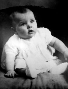 1- Ringo Starr as a baby                                                                                                                                                                                 More