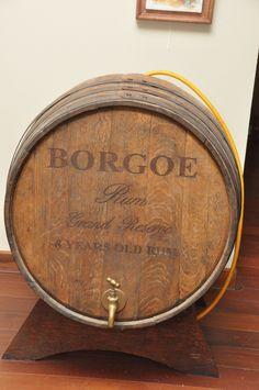 Borgoe rum barrle