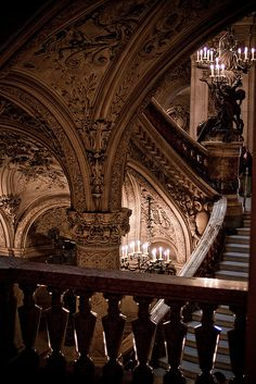 Palais Garnier, Opéra National de Paris by mmmmgoatcheese, via Flickr