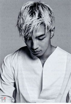 Taeyang for GQ Korea (July 2014) Does anybody need to look so perfect?