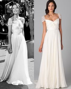 A website actually sells this amazing dress Olivia Wilde wore! Now if only it wasn't $5,950...