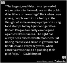 Exactly, but todays Republicans blame it on the poor that they created and perpetuate with their policies !