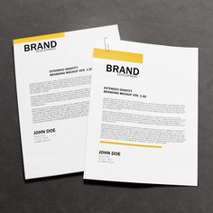 Free Letterhead Mock-up, #Free, #MockUp, #Presentation, #Print, #PSD, #Resource, #Showcase, #Template