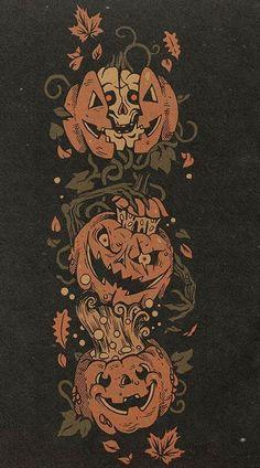 Halloween Artwork, Halloween Icons, Retro Halloween, Halloween Inspo, Theme Halloween, Halloween Images, Fall Halloween, Holiday Wallpaper, Halloween Wallpaper Iphone