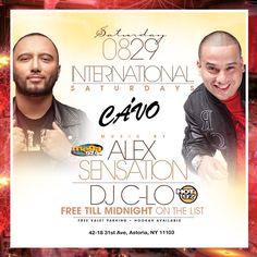 cavo astoria  Saturday La Mega Alex Sensation Live at Cavo Astoria - VIP & Free birthday packages available. Celebrate your Birthday Saturday at Cavo in Astoria 42-18 31st Ave, Queens NY 11103 fpr details ---> http://mtsproductions.com/cavo-astoria/