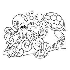 Mermaid Birthday Party Personalized Printable Sea Horse