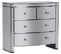 Buy Heart of House Canzano 4 Drawer Mirrored Chest at Argos.co.uk, visit Argos.co.uk to shop online for Chest of drawers, Bedroom furniture, Home and garden