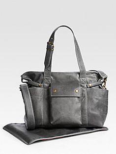 Not Rational - Hansel Leather Diaper Bag