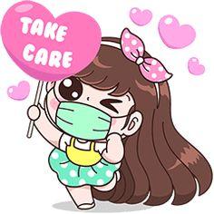 Boobib : Take care of yourself. – LINE stickers Cute Couple Cartoon, Cute Cartoon Pictures, Cute Cartoon Drawings, Cute Cartoon Girl, Cartoon Pics, Cute Love Stories, Cute Love Gif, Cute Love Pictures, Cute Emoji Wallpaper