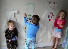 Fun Christmas craft for kids: make yourself into a gingerbread kid!