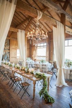 chic country barn wedding reception ideas with white draping Chic Wedding, Wedding Table, Wedding Events, Wedding Reception, Wedding Ideas, Reception Ideas, Luxury Wedding, Wedding Summer, Wedding Colors