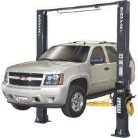 Shop Automotive 2 Post Car Lift, Garage Car Lift, Garage Tools, Powder Coating Process, Flatbed Trailer, Lifted Cars, Power Unit, Chain Drive, Pad Design