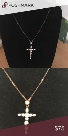 Sorelli Cross Necklace Sorelli Cross Necklace w/chain. Sorelli Jewelry Necklaces