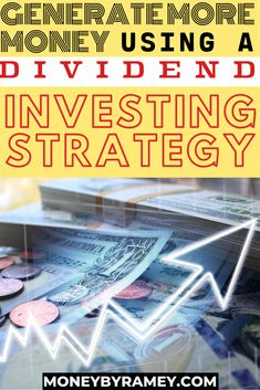 Build Your Passive Income Through The Dividend Investing Strategy Managing Money, Money Saving Tips, Financial Goals, Financial Planning, Dividend Investing, Investment Tips, Thing 1, Finance Blog, Budgeting Money