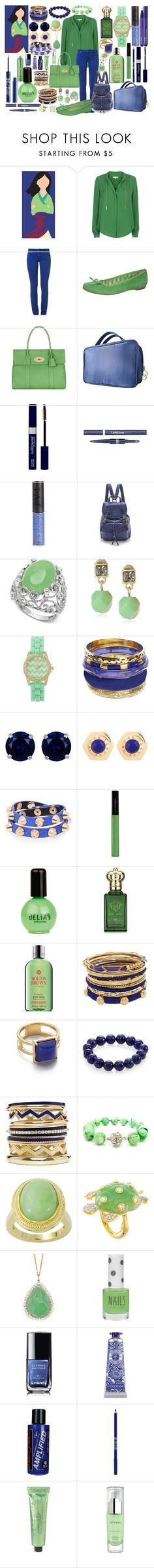 """""""Mulan- Disney High"""" by thequeenofreading ❤ liked on Polyvore featuring MICHAEL Michael Kors, CIMARRON, Pier 1 Imports, Mulberry, By Terry, Pixi, MAKE UP STORE, Urban Decay, Frye and Kenneth Cole"""