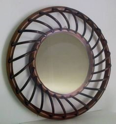 Miroir en rotin mykonos miroir rotin vintage - Miroir en rotin vintage ...