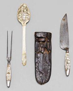 "Travel cutlery set, ""Fuhrmannsbesteck"", 1800. Tyrol, Austria. Koller auctions, 2012."
