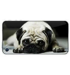 Pug iPhone 4/4s cover from www.ilovepugs.co.uk (post worldwide)