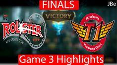 Finals: SKT vs KT Rolster Game 3 Highlights LCK Championship Series 2017