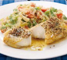 Kabeljauw met Hollandse groentestamppot - Recept - Jumbo Supermarkten Dutch Recipes, Fish Recipes, Healthy Recipes, Healthy Food, Good Fats, Fish Dishes, Love Food, Seafood, Yummy Food