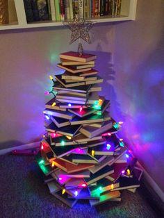 Book Christmas Tree Unique Christmas Tree