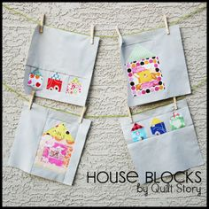 Quilt Story: House Blocks!
