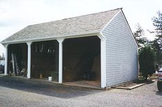 Pole barns farms and pole barn kits on pinterest for 3 bay garage kit