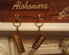 Alohomora Key Holder with Metallic Vinyl by HappyDistraction