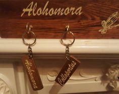 Alohomora Key Holder with Metallic Vinyl by HappyDistraction