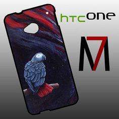 Features: and attractive outlook to fit for HTC One perfectly, and can be installed/removed easily your HTC One from external scratches and shocks or dirt African Grey Parrot, Htc One M7, Stylish, Fit, Design, Shape
