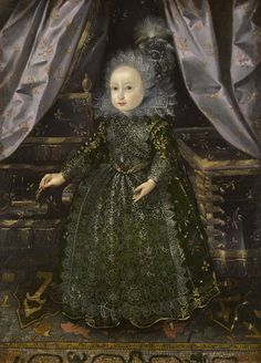 Prince Frederick Henry (1614-1629) Attributed to Flemish School, 17th century