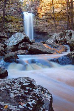 Cedar Falls at Petit Jean State Park---Morrilton, Arkansas
