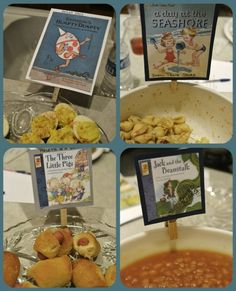 Story book theme baby shower ideas