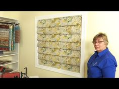 How to Make a Hobbled Roman Shade Video