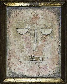 Paul Klee 'Head of a Martyr' 1933                                                                                                                                                                                 More