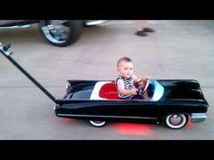 Baby's Cadillac Car Stroller
