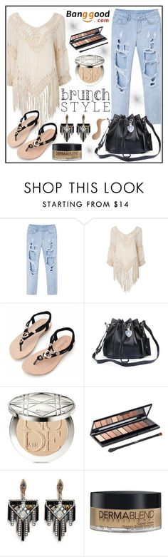 """""""Banggood 2"""" by gaby-mil ❤ liked on Polyvore featuring Christian Dior, L'Oréal Paris, Lulu Frost, Dermablend and Sisley"""