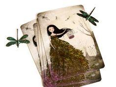 L'Envol des Libellules  Postcard by TheNebulousKingdom on Etsy, $2.00
