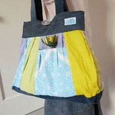 Recycle Purse diaper bag repurposed clothing