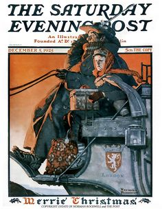 Dec. 5, 1925 ... Coach To London   Norman Rockwell      Saturday Evening Post