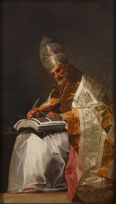 File:Francisco de Goya - Saint Gregory the Great, Pope - Google Art Project.jpg