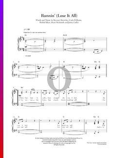 #pianosheetmusic #piano #klavier #klaviernoten G Major, Easy Piano, Pop Songs, Piano Sheet Music, The Voice, Anime, Cartoon Movies, Piano Music, Anime Music