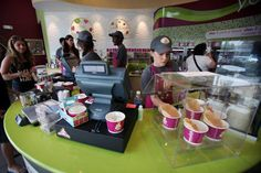 The frozen yogurt business