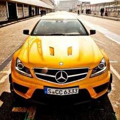 Dream Car Mercedes-Benz C63 AMG