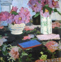 Still Life, Camellias