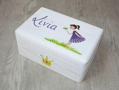 Kisten & Boxen - Spitzbub Erinnerungsbox Kiste - Froschkönig - ein Designerstück von Spitzbub bei DaWanda