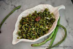 A dish a day : Day 177 - Stir fried Yard long Beans