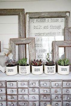 DIY Succulent Planters | Liz Marie | Bloglovin'